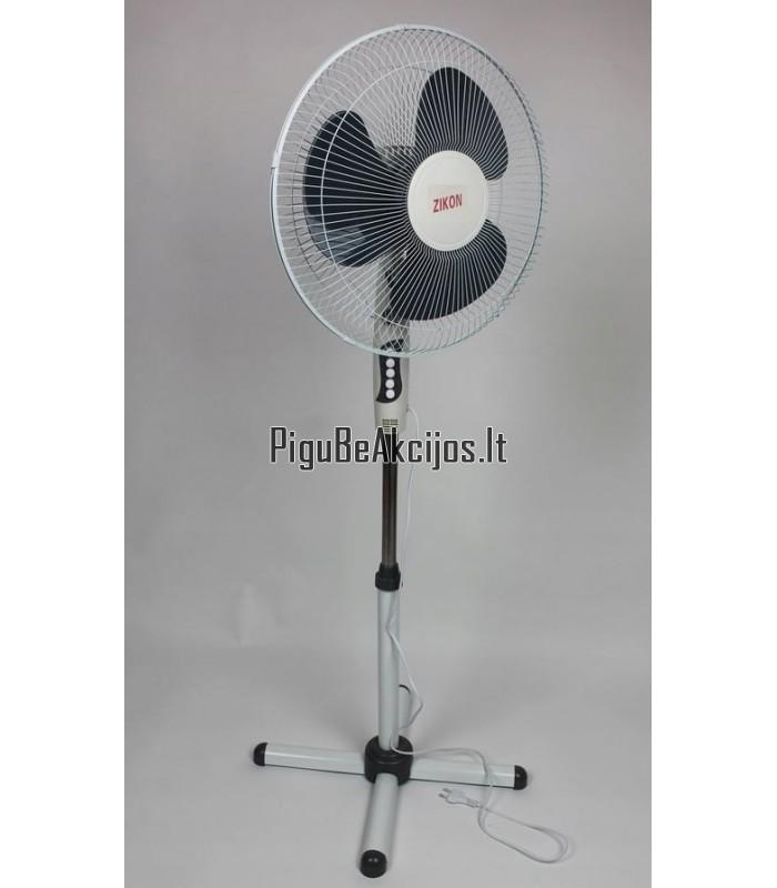 """Pastatomas ventiliatorius """"Zikon"""" su 3-imis oro pūtimo reguliavimo funkcijomis!"""