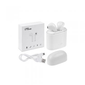Belaidės bluetooth ausinės su įkrovikliu TWS i7S