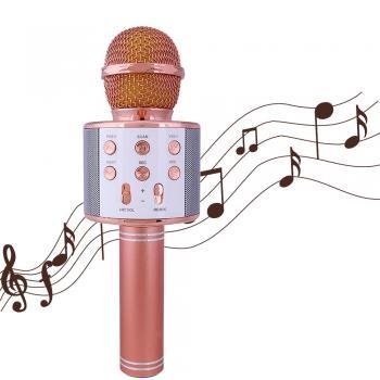Karaokė mikrofonas - WS-858 su įrašymo funkcija