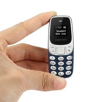 """Mažiausias pasaulyje """"bluetooth"""" mini mobilusis telefonas"""