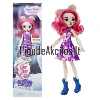 Ever After High® lėlė Snow Pixie Veronicub