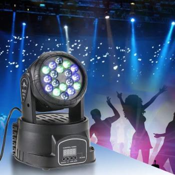 Judantis šviesos efektas - mini  projektorius vakarėliams
