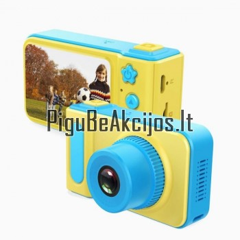 Fotografuojantis ir filmuojantis vaikiškas fotoaparatas